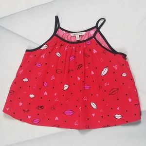Calvin Klein Jeans Toddler 2T Red Dress